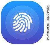fingerprint purple   blue...