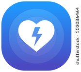 heart purple   blue circular ui ...