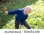 Little Boy Smiling Happy
