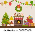 vector illustration of... | Shutterstock .eps vector #503070688