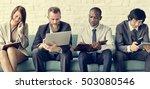 business people data... | Shutterstock . vector #503080546