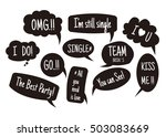 props for photos on weddings... | Shutterstock .eps vector #503083669
