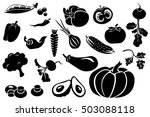 black and white illustration.... | Shutterstock . vector #503088118
