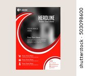 business brochure flyer design... | Shutterstock .eps vector #503098600
