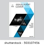 annual business report cover... | Shutterstock .eps vector #503107456