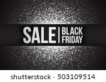 black friday sale vector... | Shutterstock .eps vector #503109514