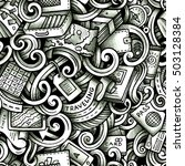 cartoon trace doodles travel... | Shutterstock .eps vector #503128384