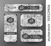 corporate identity vector... | Shutterstock .eps vector #503129836