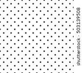 diagonal pattern polka  dot ... | Shutterstock .eps vector #503139508