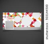 creative photography banner... | Shutterstock .eps vector #503144500