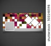 creative photography banner... | Shutterstock .eps vector #503148598