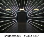 Abstract Interior. Led Lights...