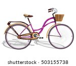 bicycle.vector illustration | Shutterstock .eps vector #503155738