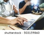 medical doctor team taking... | Shutterstock . vector #503159860