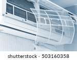 dirty filter of air conditioner ...   Shutterstock . vector #503160358