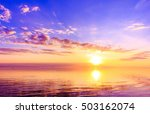 atmosphere sun dawn  | Shutterstock . vector #503162074