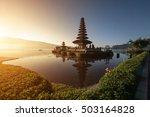 pura ulun danu bratan  hindu... | Shutterstock . vector #503164828