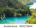 cascades of milanovac waterfall ...   Shutterstock . vector #503175844