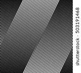 vector black halftone line... | Shutterstock .eps vector #503191468