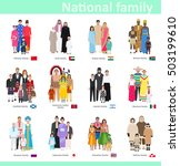 Families In National Costume ...
