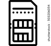 sim card | Shutterstock .eps vector #503206054