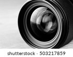 lens reflection black and white ... | Shutterstock . vector #503217859