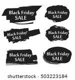black friday sale day. black...   Shutterstock .eps vector #503223184
