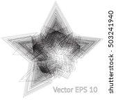 modern background with grunge... | Shutterstock .eps vector #503241940