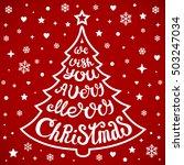 vector christmas tree of...   Shutterstock .eps vector #503247034