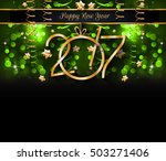 2017 happy new year background... | Shutterstock .eps vector #503271406