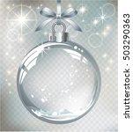 vector realistic transparent... | Shutterstock .eps vector #503290363