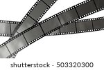movie filmstrip isolated on... | Shutterstock . vector #503320300