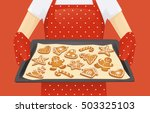 Baking Tray With Christmas...