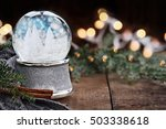 Rustic Image Of A Christmas...