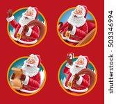 santa claus banner | Shutterstock .eps vector #503346994