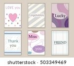 cute hand drawn doodle... | Shutterstock .eps vector #503349469