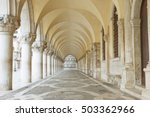 archway underneath the doge's... | Shutterstock . vector #503362966