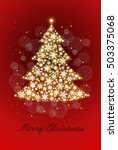 christmas tree | Shutterstock .eps vector #503375068