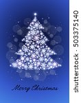 christmas tree | Shutterstock .eps vector #503375140