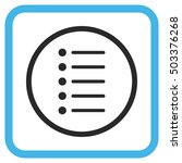 items blue and gray glyph icon. ...