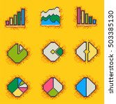 statistics icon ui vector...