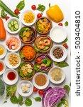 salad group photo | Shutterstock . vector #503404810