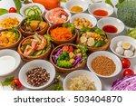 salad group photo | Shutterstock . vector #503404870