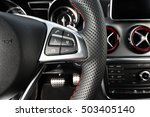 modern car interior  | Shutterstock . vector #503405140