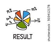 result concept | Shutterstock . vector #503412178