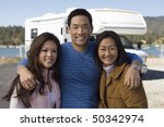 parents and teenage daughter... | Shutterstock . vector #50342974