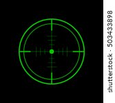 crosshair  target icon   vector | Shutterstock .eps vector #503433898