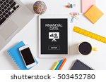 financial data concept | Shutterstock . vector #503452780