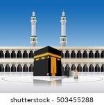 kaaba mecca saudi arabia | Shutterstock .eps vector #503455288