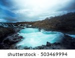 Bruarfoss Or Waterfall Bridge ...